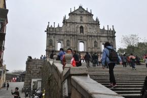 Fachada da aniga igreja de São Francisco colonial