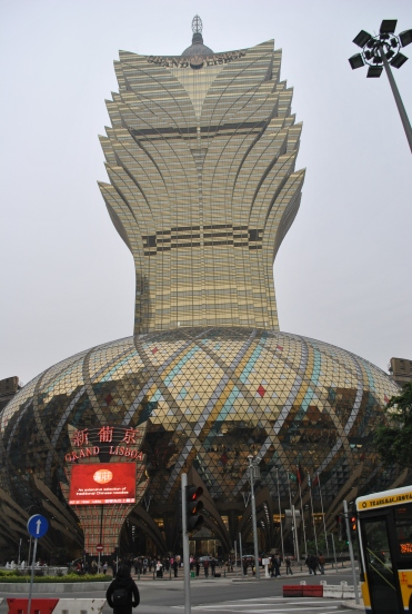 Casino com arquitetura moderna