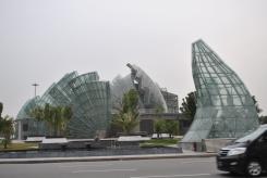 Arquietetura moderna no centro